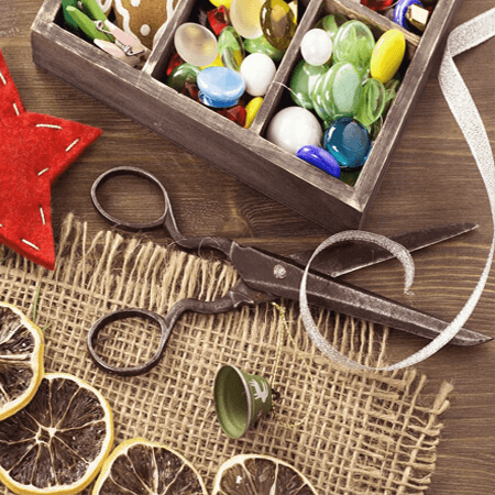 Quà Handmade được tạo nên từ những vật liệu đơn giản