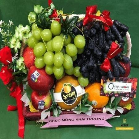 Giỏ trái cây mừng khai trương