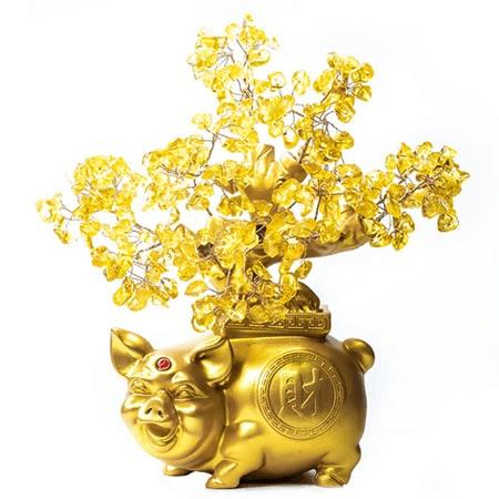 Cây tài lộc bằng vàng