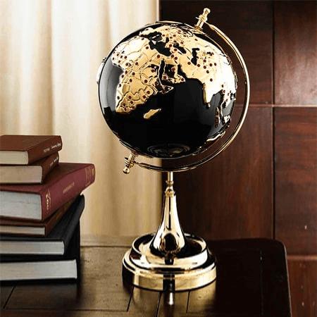 Quả địa cầu tặng quà khai trương