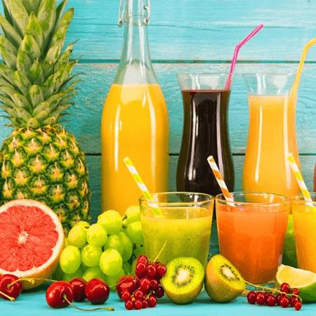 Sinh tố - nước ép trái cây giải nhiệt cho mùa hè nóng bức