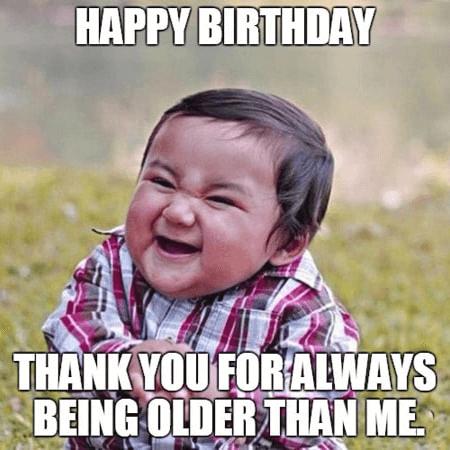 Ảnh chúc mừng sinh nhật hài hước