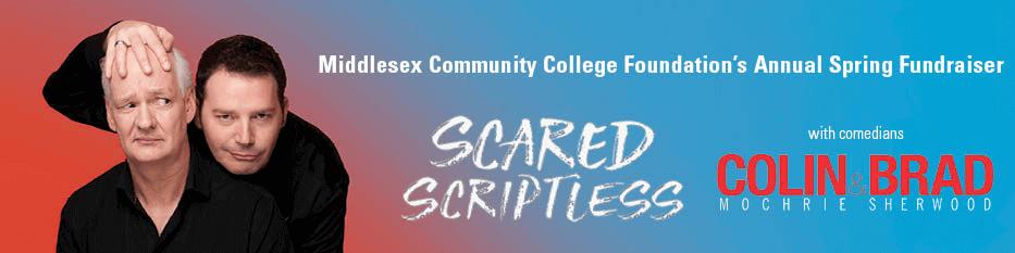 MCCF Fundraiser Scared Scriptless