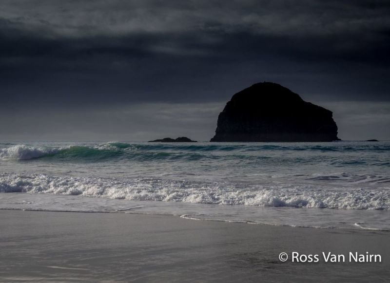 Early evening at Trebarwith Strand