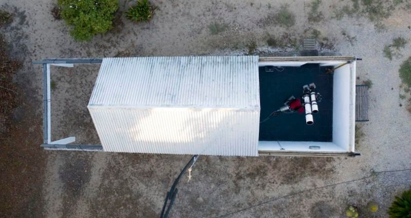 Roll-off-roof observatory | Paramount ME