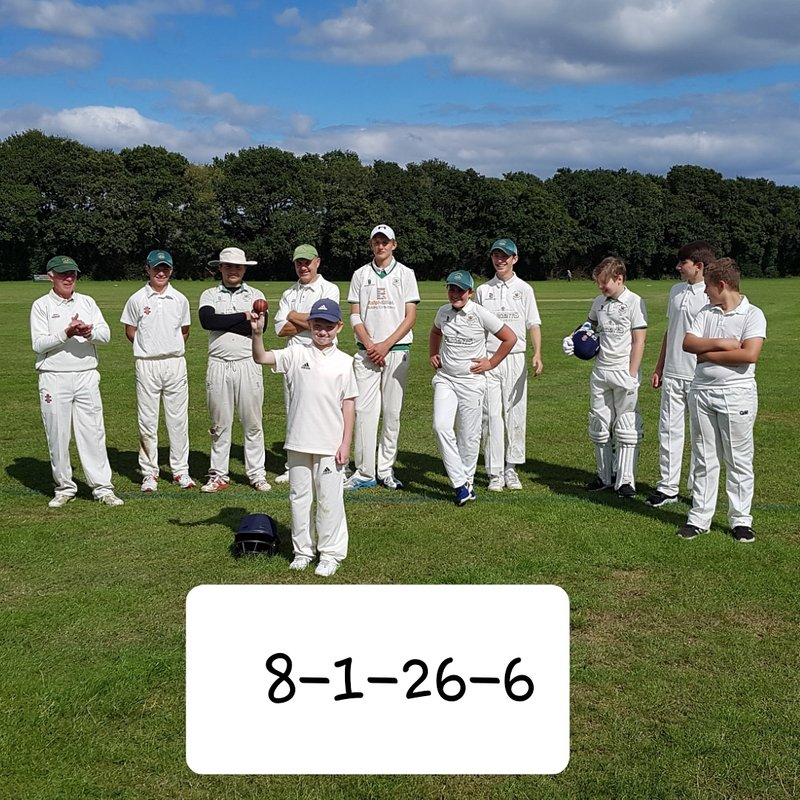 Youngsters Taste Senior Cricket In The Woodhouse Trophy