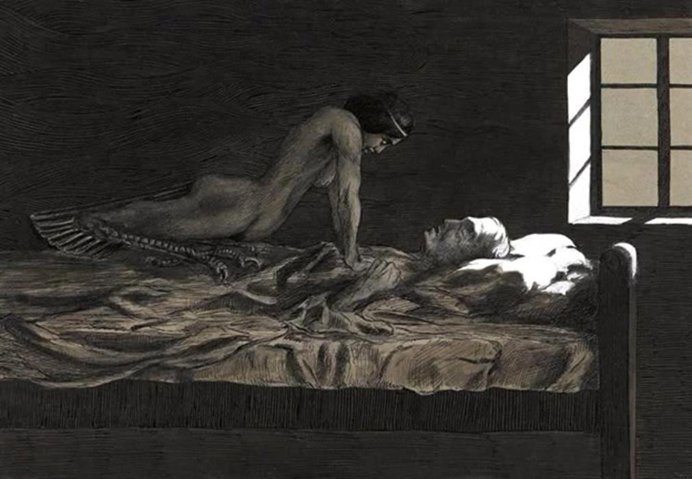 demonio mulher