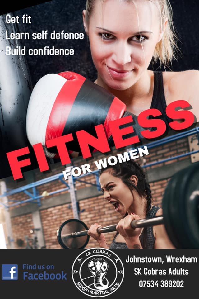 SK Cobras Martial Arts - Women's Fitness