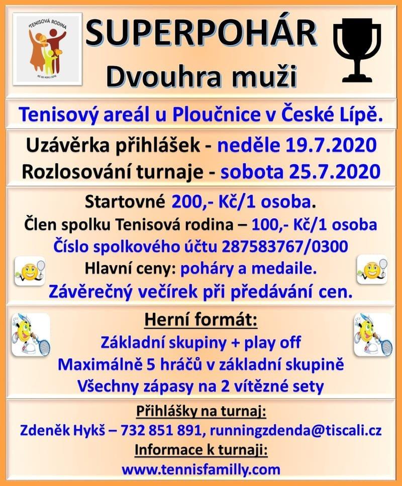 Superpohár - dvouhra muži - areál u Ploučnice v České Lípě
