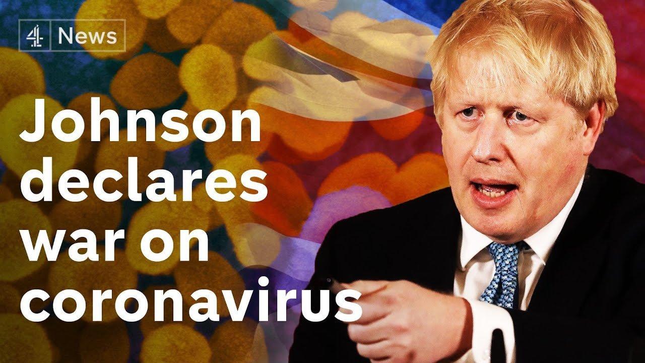 War terminology on the coronavirus