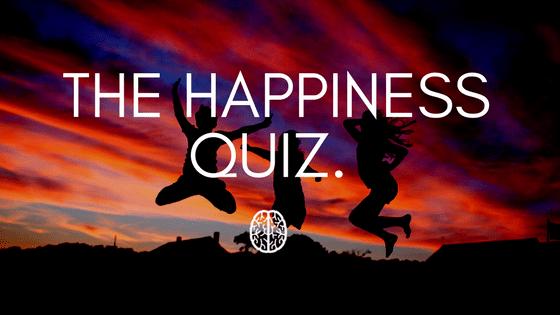 Happiness quiz