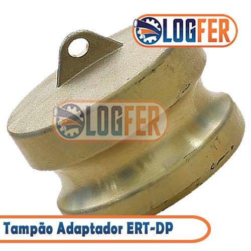 Engate Rápido ERT-DP tampão Adaptador latão