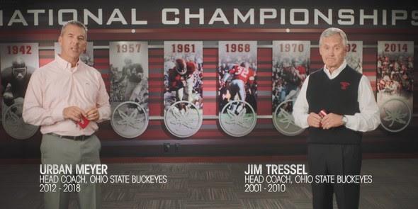 Urban Meyer & Jim Tressel