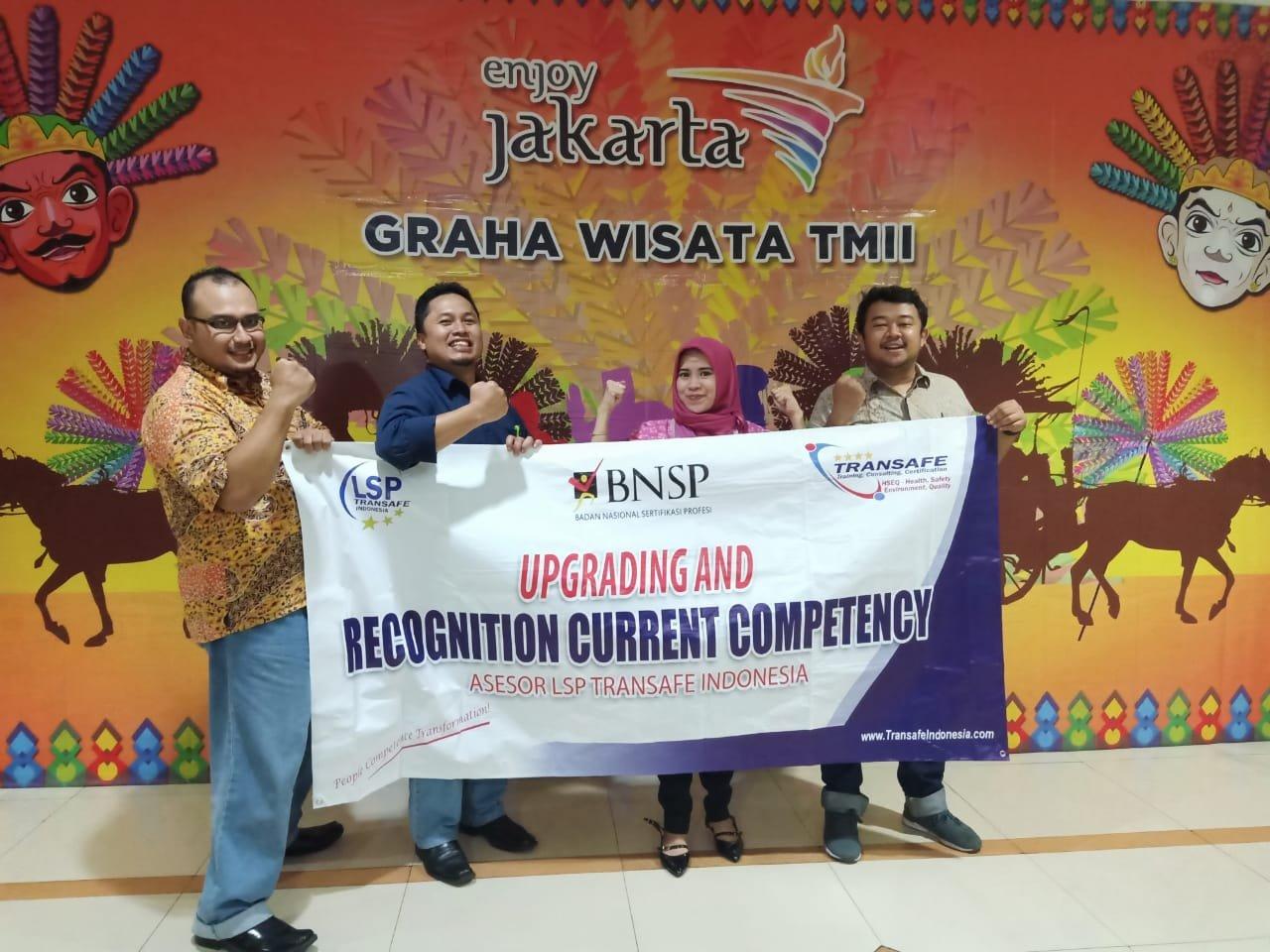 RCC Asesor BNSP LSP TRansafe Indonesia