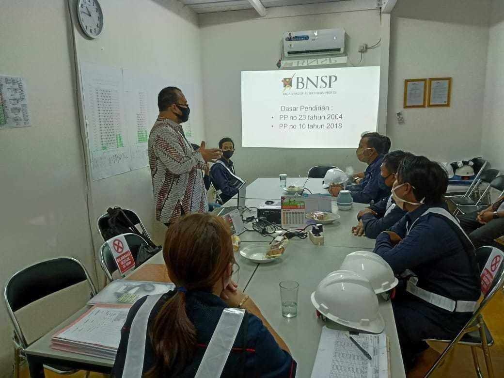 Uji Kompetensi Crane Sertifikasi BNSP LSP Transafe Indonesia