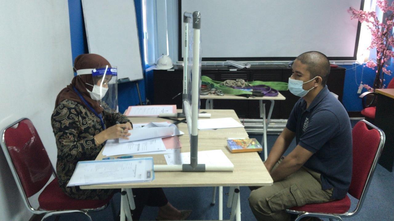 Uji Kompetensi Juru Ikat Sertifikasi BNSP LSP Transafe Indonesia