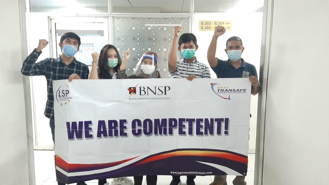 Penutupan Uji Kompetensi Juru Ikat Sertifikasi BNSP LSP Transafe Indonesia