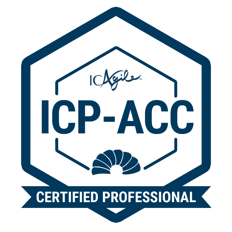 ICAgile Certified Professional in Agile Coaching (ICP-ACC)