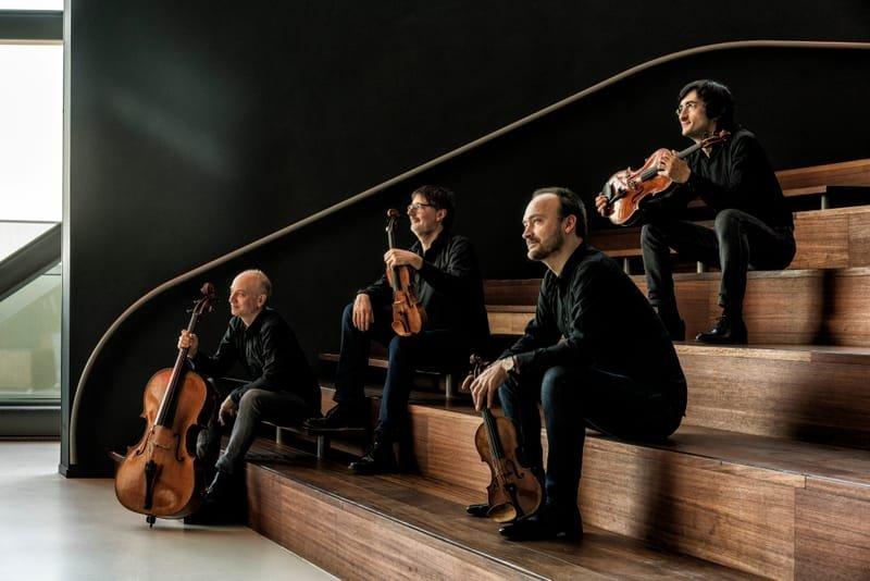 Quatuor DANEL et Ludmila BERLINSKAIA piano