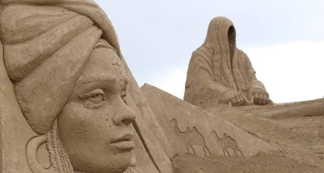 ارض الرمال في انطاليا