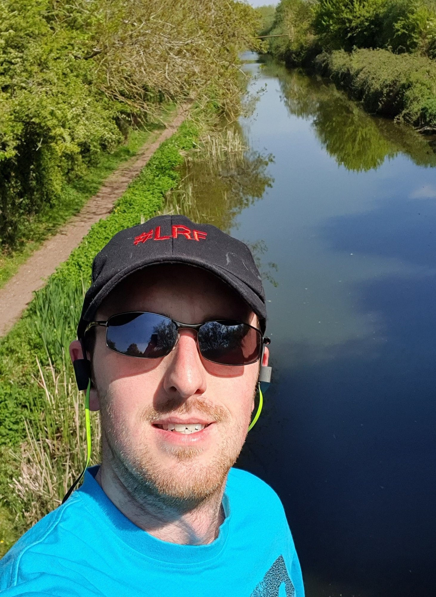Me on the canal