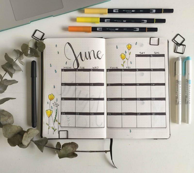 Organización-Bullet Journal