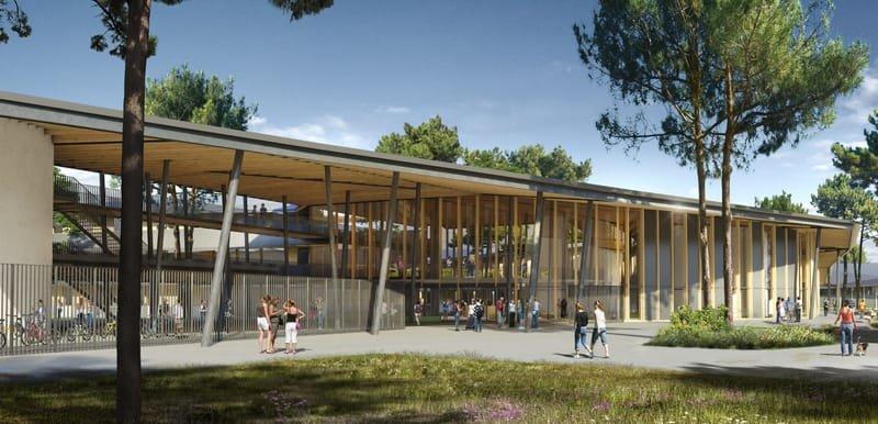 Nouveaux Lycée et Collège Le Barp