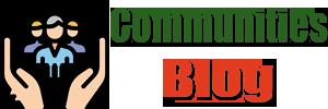 Communities Blog