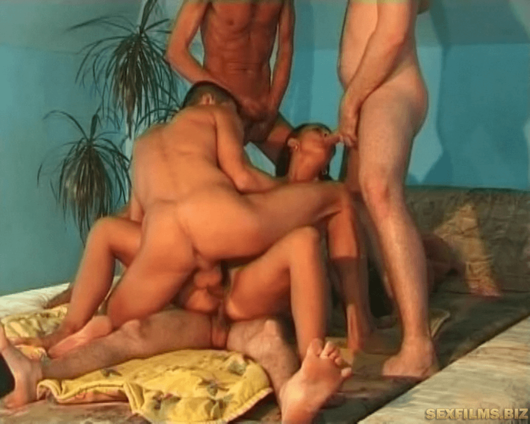 Hot gangbang - 4in1