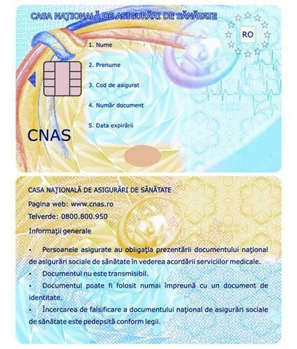 EHIC CARD (CNAS) - Европейская медицинская страховка