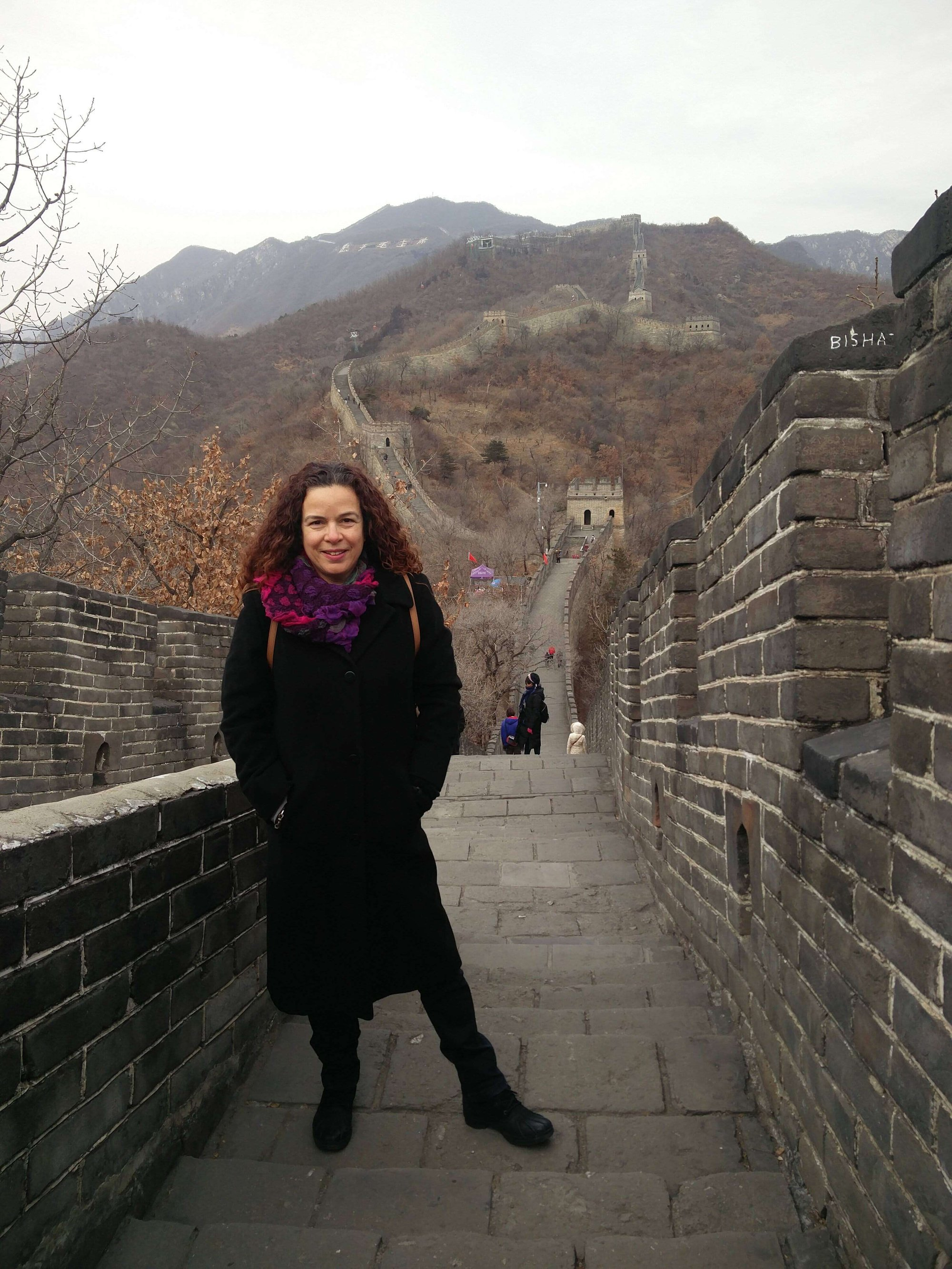 רוית רדיאן, בין ים ושמיים, החומה הסינית, אימון, שינוי