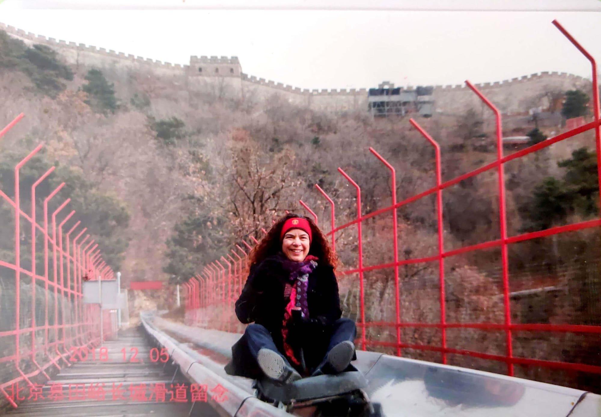 רוית רדיאן, בין ים ושמיים, אימון, שינוי, החומה הסינית, בייג'ין