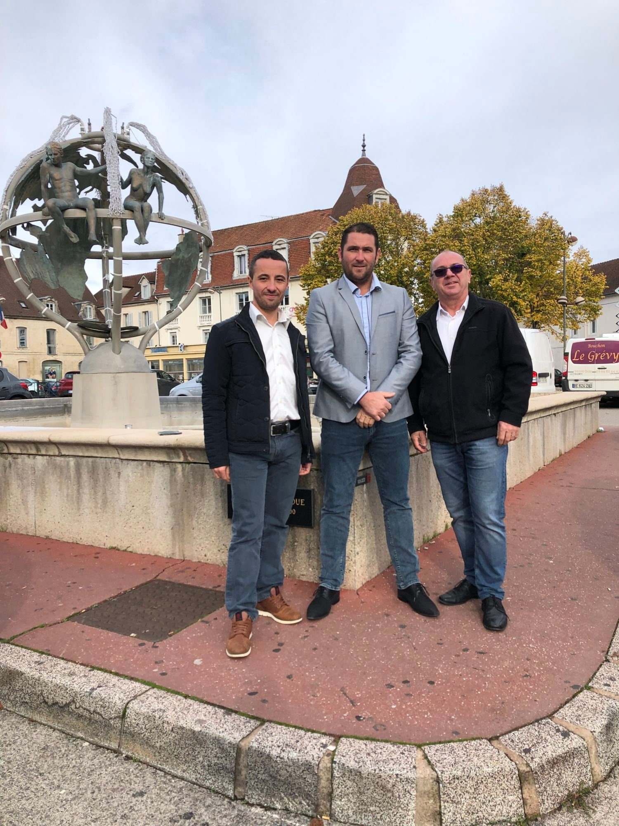 Benjamin MAVEYRAUD, Franck BOUDOT, Pascal MERGEY