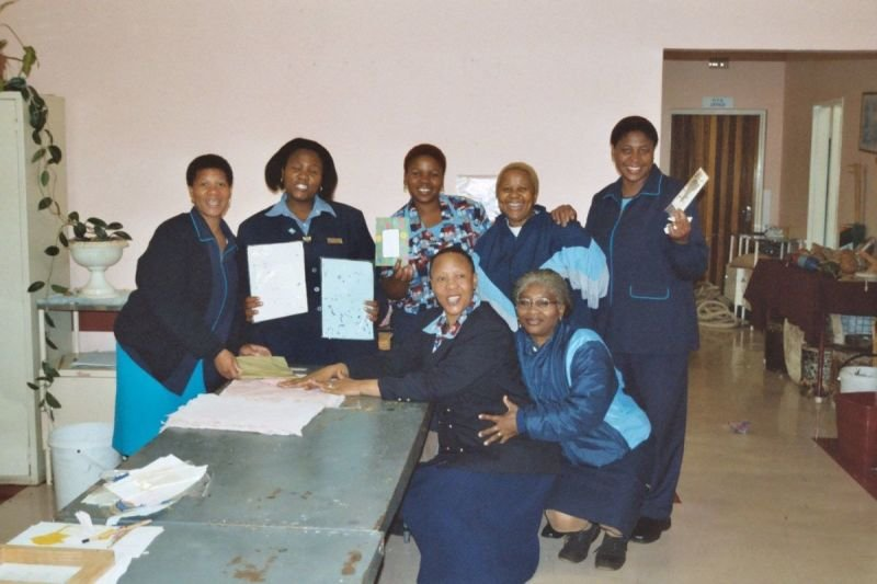 OT support workers able to enable clients with learning disabilities (South Africa) due to well established VdTMoCA service