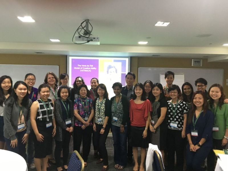 ICAN VdTMoCA training at Singapore OT Association conference, 2015