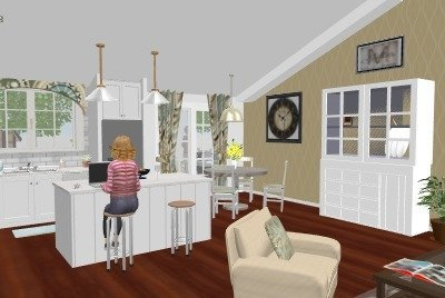 3D STILL OF CONCEPT SPACE RENOVATION