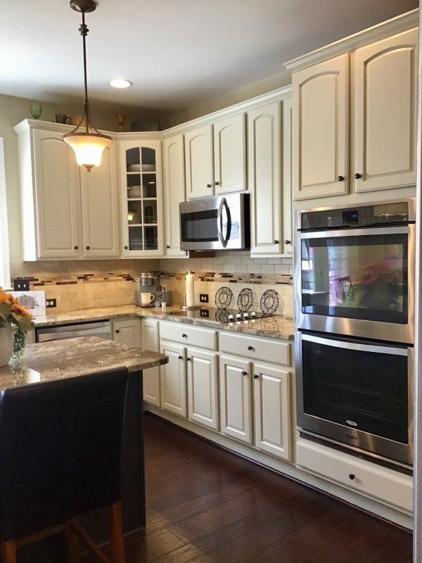 AFTER - Painted Cabinets