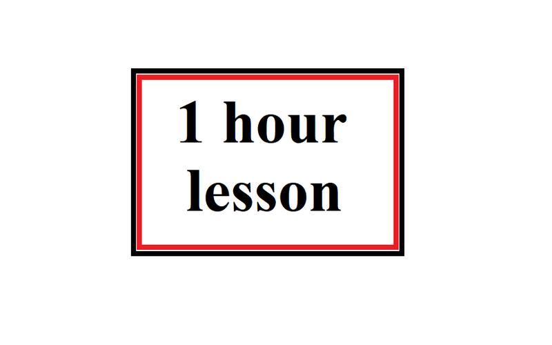 Singular lesson