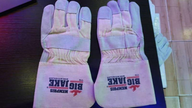 Big Jack Premium Leather Hand Gloves.