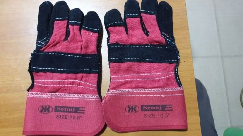 Combination Leather Ultra Premium Safety Hand Gloves.