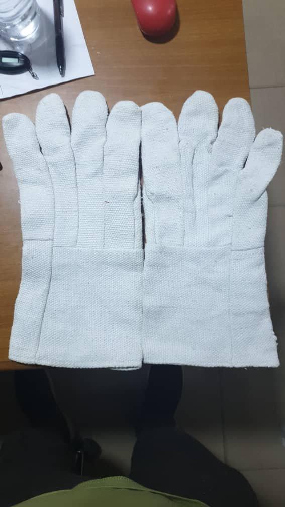 Heavy Duty Asbestos Hand Gloves.