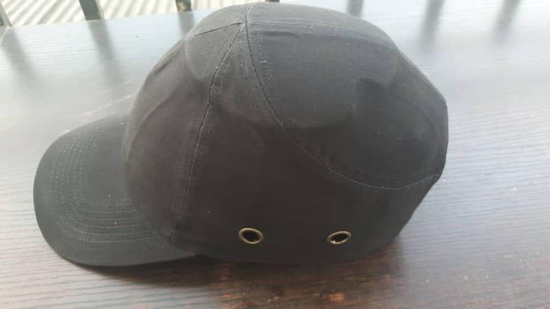 Black Safety Bumper Cap Standard.