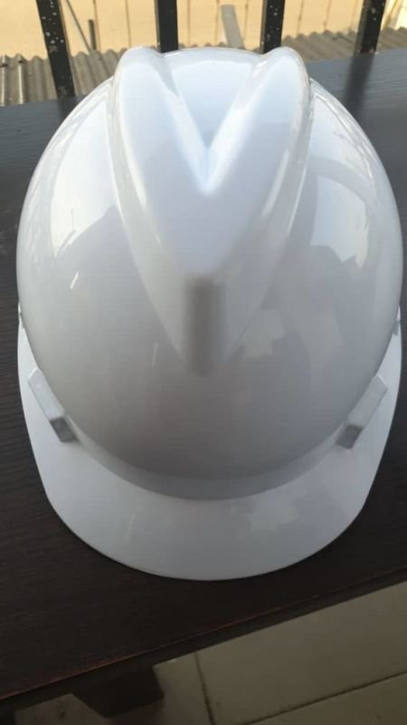 White V-Guard Safety Helmet (MSA Certified)