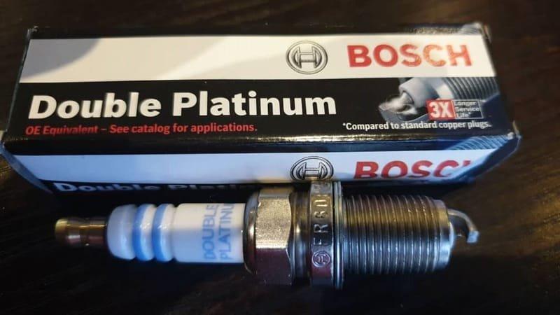Bosch Double Platanium Spark Plug 8100