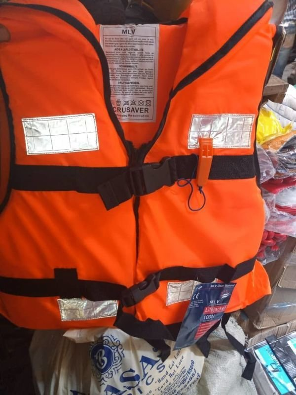 Red Life Jacket Premium with Reflector