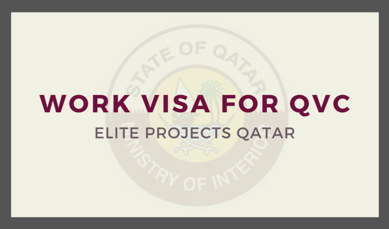 Work Visa for QVC