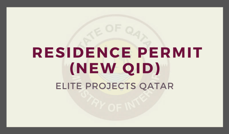 Issue or Reactivate Residence Permit ( New QID)
