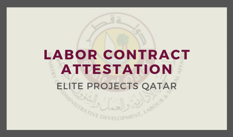 Labor Contract Attestation
