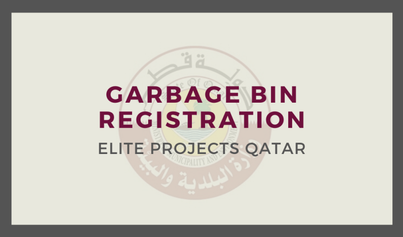 Garbage Bin Registration