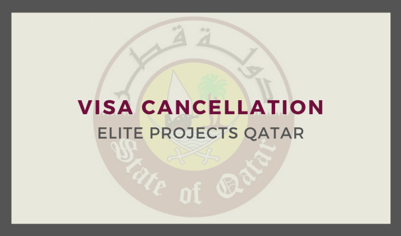 Visa Cancellation